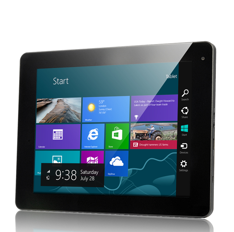 "Windows 8 Compatible Tablet ""Elite"" - Dual Core Intel 1.5GHz, 32GB, 9.7 Inch HD Display OA1794"